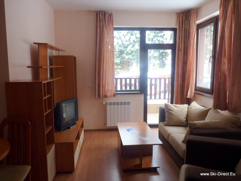 One bedroom apartment for rent borovets pic 3 ski school for 1 bedroom apartment for rent