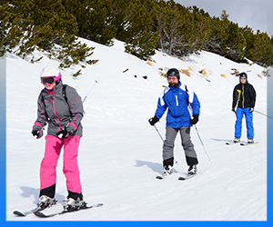 Adult Skiing Lessons Borovets