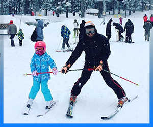 Children Skiing Lessons Borovets