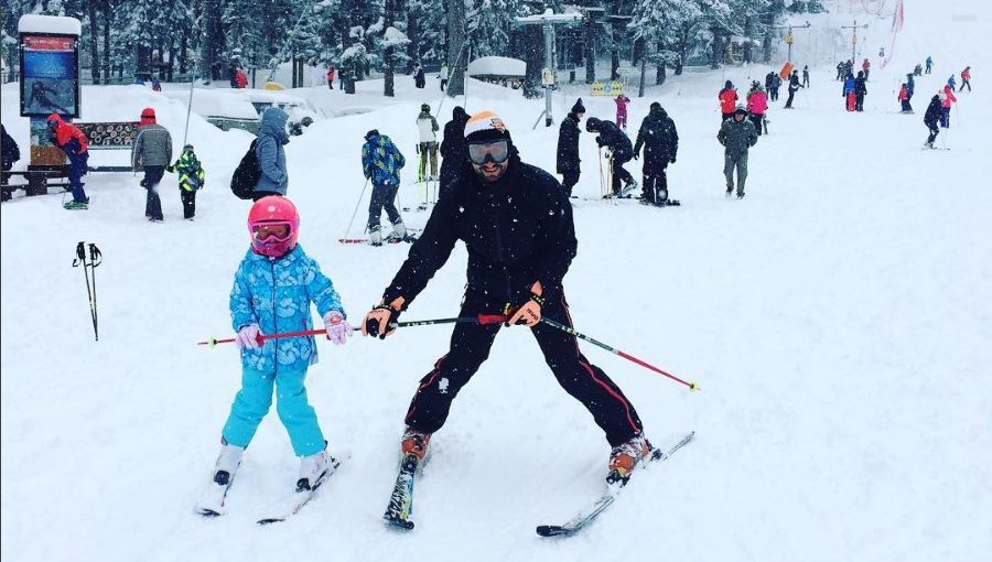 How to teach your child to Ski?