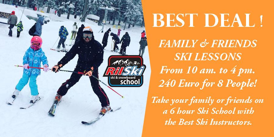 Promo Family Ski Lessons