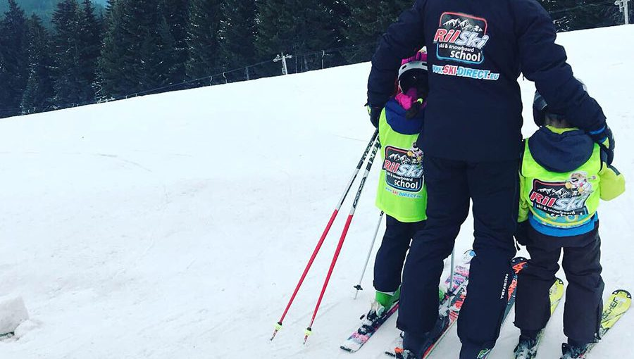 Ski school lessons for Children and Adults
